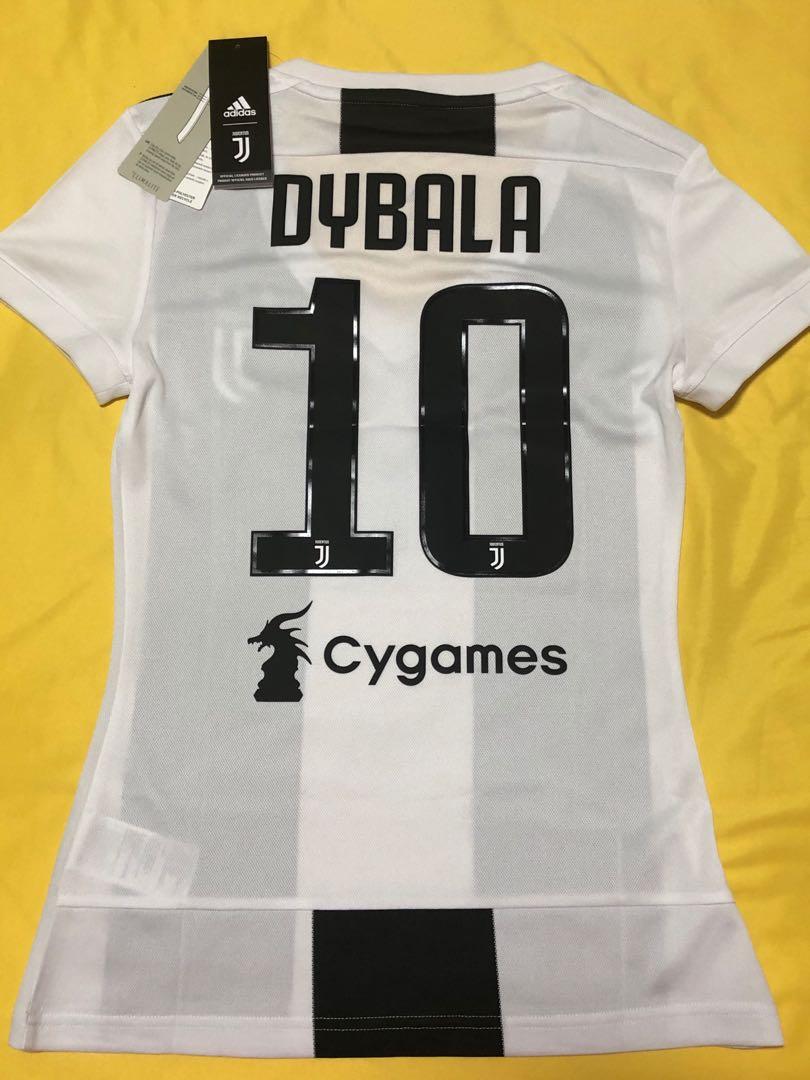 acf5699ebc1 Official Juventus (Dybala) 2018 2019 Jersey - Women XS