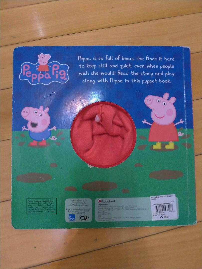 Play with Peppa ! A puppet play book 粉紅豬 童書