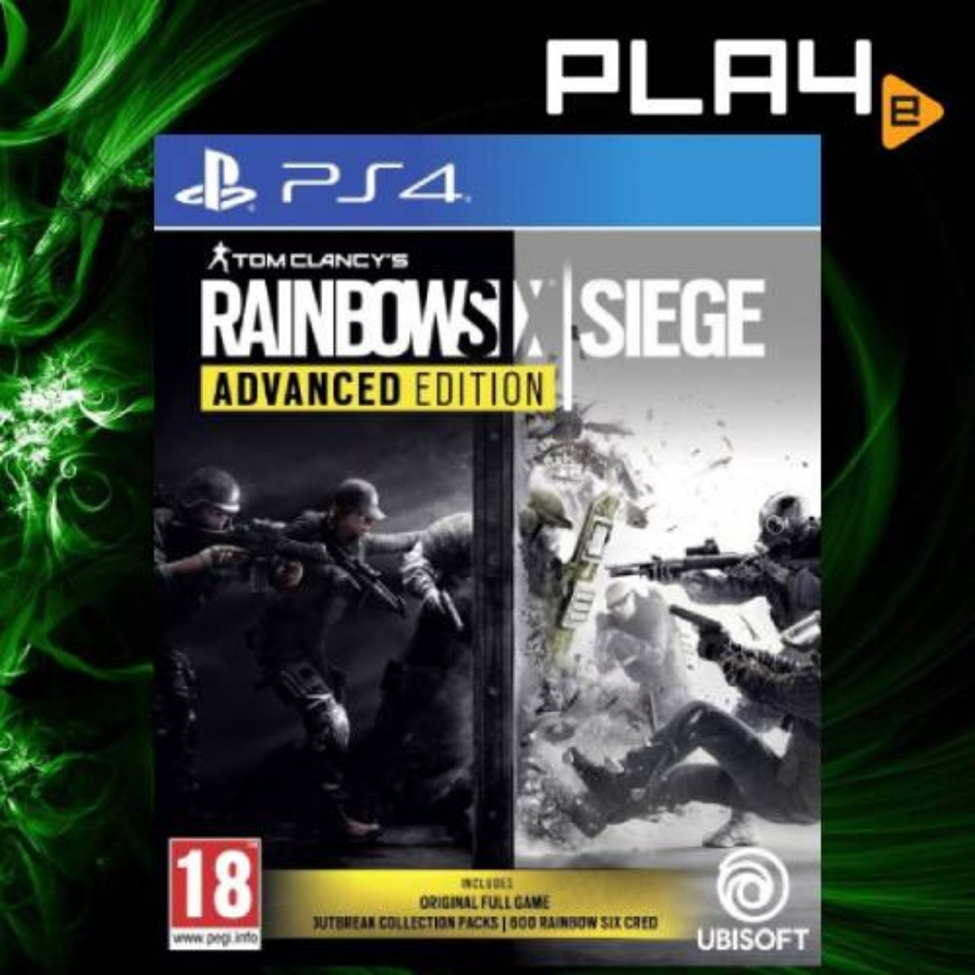 difference between rainbow six siege gold and complete edition