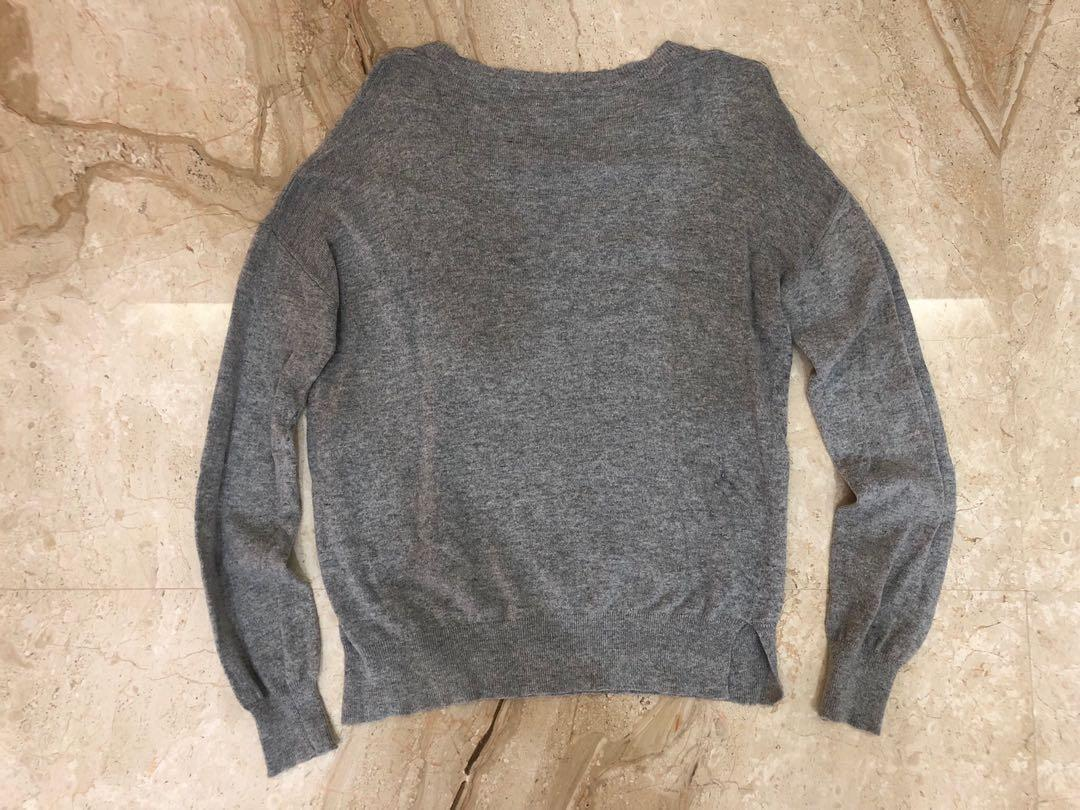 PULL & BEAR - Grey sweater