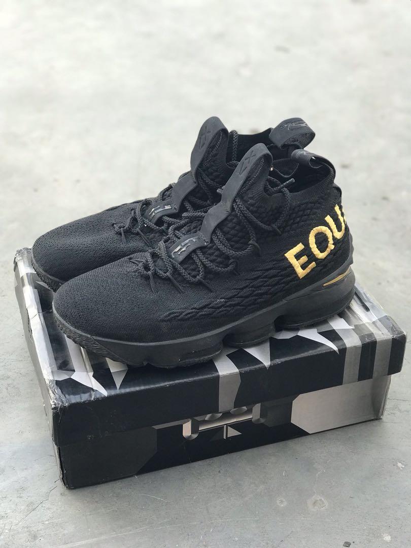 big sale d2d71 6455a Sepatu basket PREMIUM Lebron 15 - Equality, Men's Fashion, Men's ...