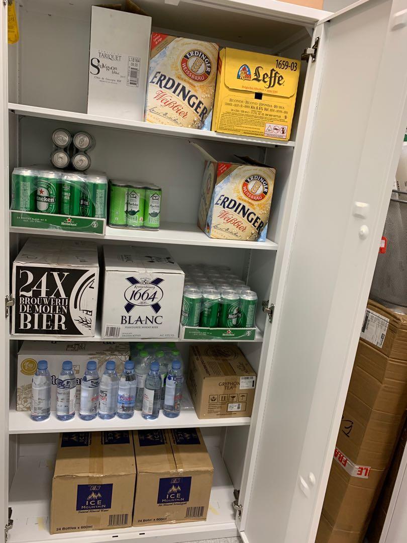 Simple job- stocking up drinks in fridges !! $10/hour