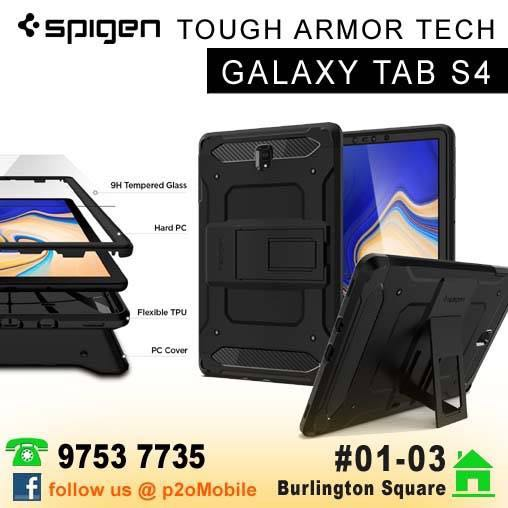 quality design 693d7 7f7c6 Spigen Tough Armor Tech for Samsung Galaxy Tab S4
