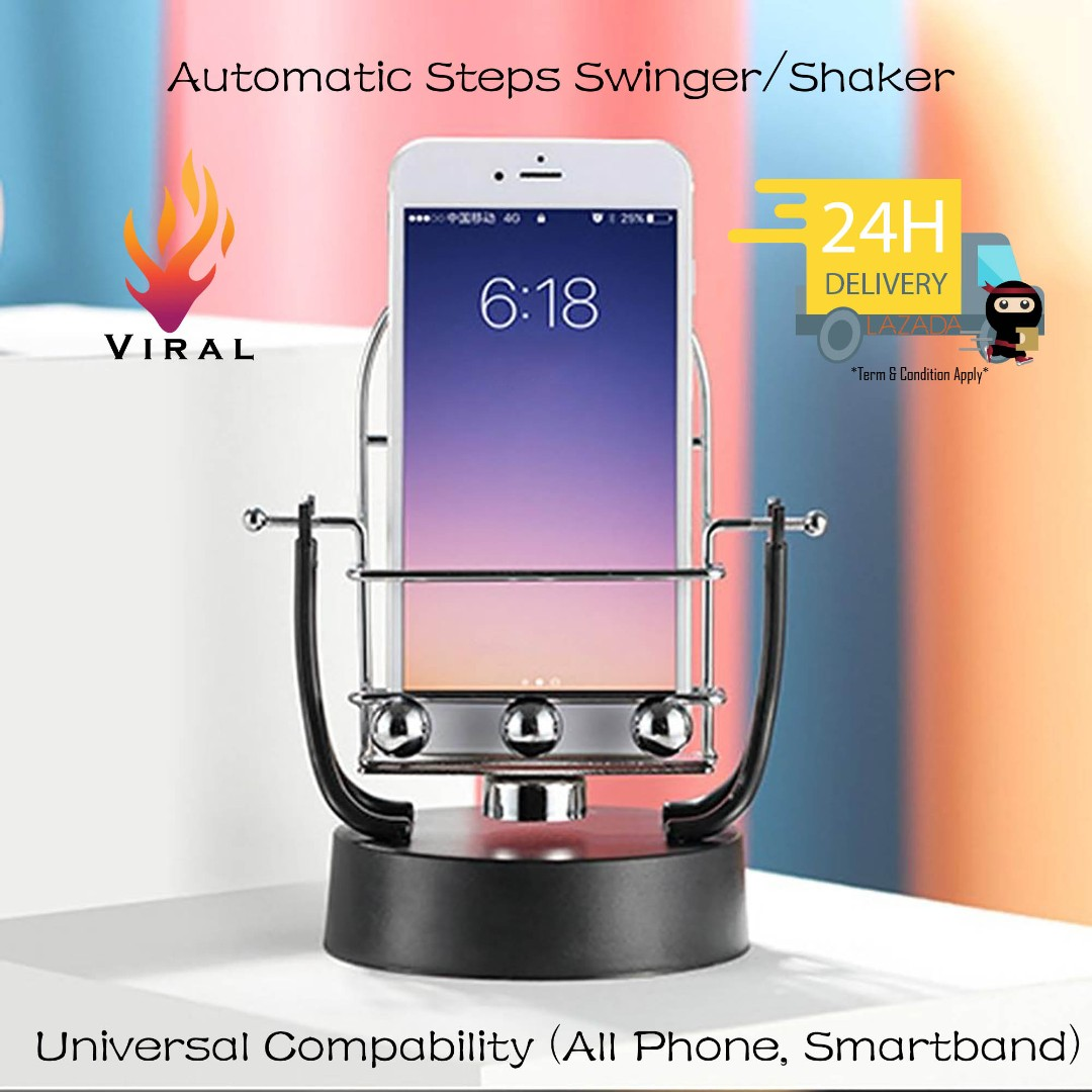 Steps Automatic Swing/Generator #Cheat #Hack #Shake #Healthy360 #National  Step challenge #AIA vitality #Smart band #Fake Running