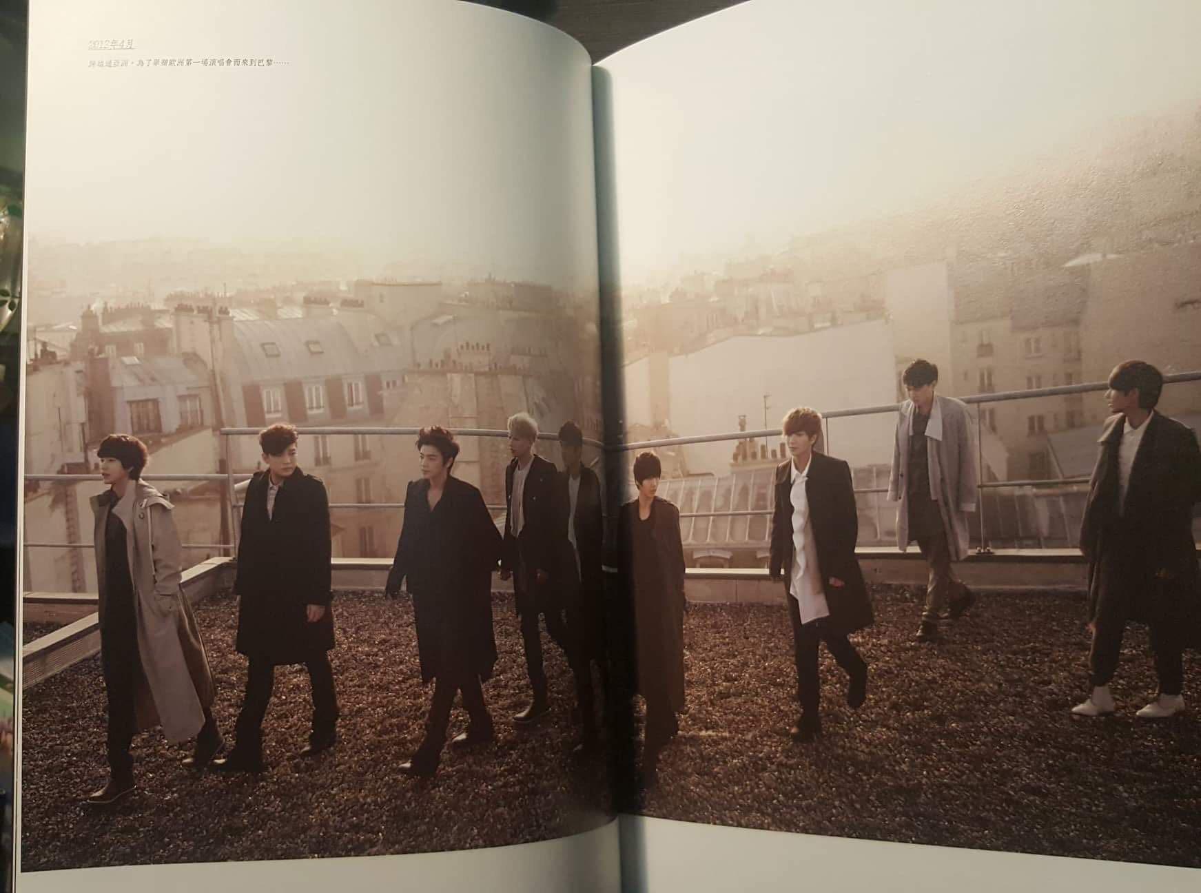 Super Junior - Boys In City Season 4 (Paris France) *Taiwan Version