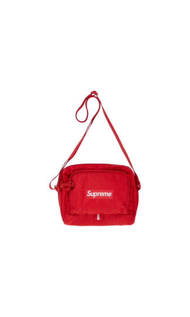 9dd421a3 Supreme Shoulder Bag 2019, Women's Fashion, Bags & Wallets, Sling Bags on  Carousell