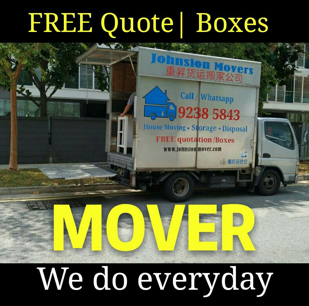 Transportation house moving services call 92385843 JohnsionMover