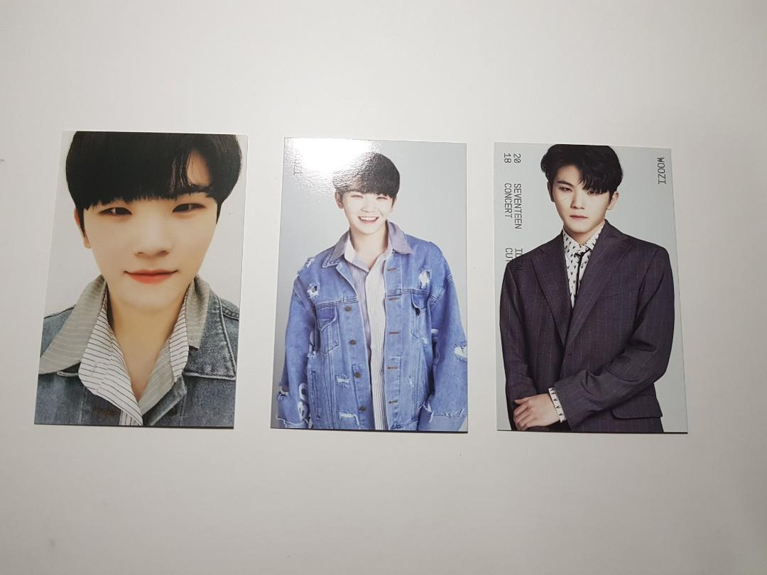 WTS SEVENTEEN IDEAL CUT TRADING CARDS