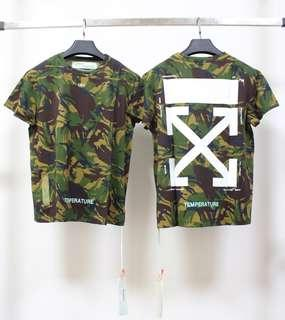 Off-white Camouflage Tee 迷彩短袖衫