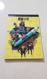 original one piece memo pad (note book)
