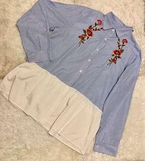 Embroidered Longsleeve Polo
