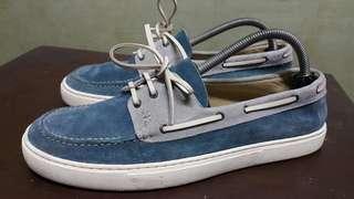 HERMES boat shoes topsider size 41.5