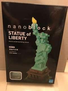 Nanoblock Statue of Liberty NBM_003