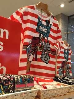 Wally T-shirt 🇯🇵 日本Wally 2019 展覽館限定商品