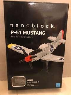 Nanoblock P-51 Mustang NBM_005