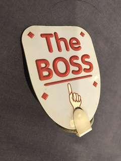 Keychain - The Boss