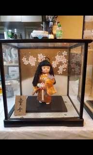 日本人形公仔 童女
