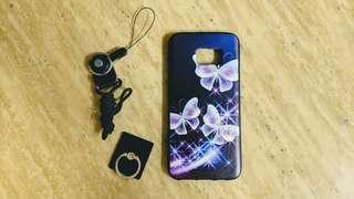 Samsung S7 Edge phone case / cover with strap