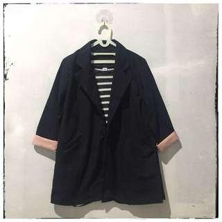 [NEW] Blazer Outer Parka Navy