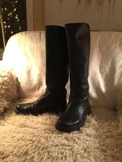 Roots leather boots (orig $200)