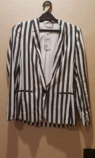 H&M Stripes Blazer