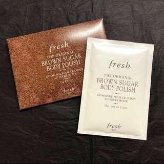 Fresh Brown Sugar Body Polish 黃糖身體磨砂護理 35g