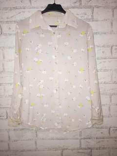 Buy 1 get 1 blouse flower + blouse basic