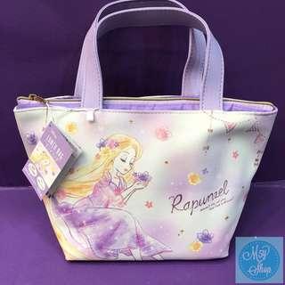 ❌Rapunzel長髮公主日本🇯🇵一袋二用飯袋/手挽袋❌