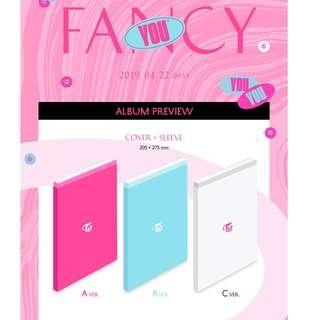 """[PO] Twice """"Fancy You"""" Album"""
