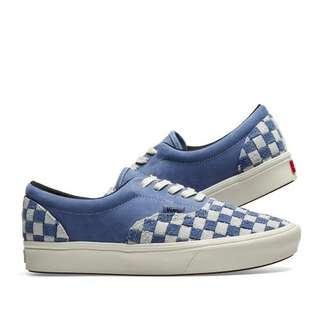 Vans Vault ComfyCush Era LX Checkerboard Blue / White