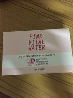 Etude House Pink Vital Water sample #endgameyourexcess
