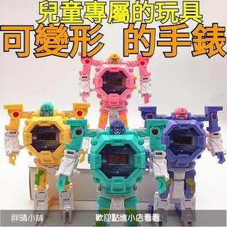 (546)胖晴小舖【玩具】炫酷變形手錶,機器人手錶,機械人拼裝,變形玩具,變身機器人手錶,機器人,兒童玩具,電子手錶
