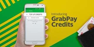 🚚 Grabpay Credit | Get $106 credits for $100