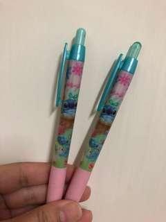 日本迪士尼 史迪仔 復活節 筆 一套