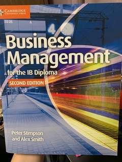 🚚 Business Management IB Diploma