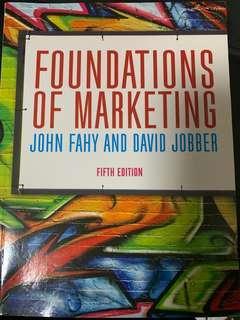 🚚 Foundations of marketing