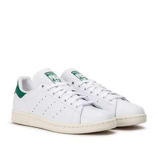 Adidas Stan Smith Leather White / Green