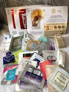 FREE Beauty Samples with every cosmetics purchase!