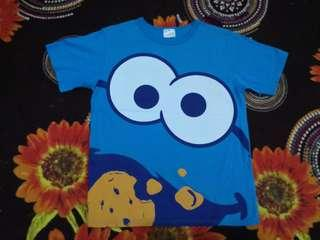Universal studios T-shirt COOKIE MONSTER full print