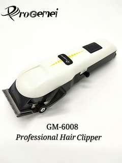 ProGemei GM-6008 Rechargeable 2000 mAh Hair Clipper Hair Trimmer