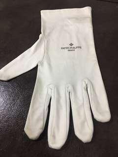 Patek Philippe White Soft Gloves/Cloth
