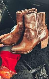 Vintage Frye Leather Boots - 6.5