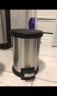2 Small Garbage Cans. Never been used.