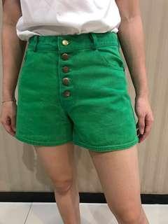 Green Hotpants