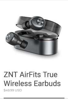 ZnT Bluetooth earphone