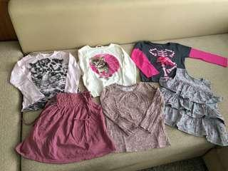 🚚 Girls clothes
