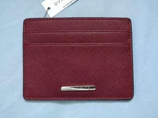 Burgundy Card Holder/Dynamite