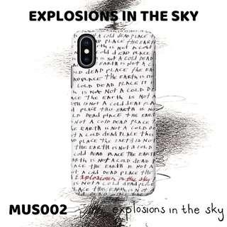 Custom Case Band EXPLOSIONS IN THE SKY (MUS002)