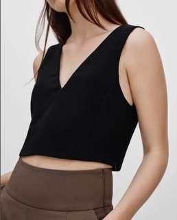 Wilfred Dauphine Top in Black (XXS)