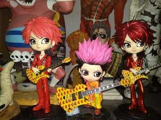 hide Q posket X japan such me love me yellow heart 太型